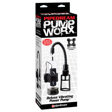 Pipedream Pump Worx Deluxe Vibrating Power Pump