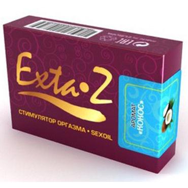Desire Exta-Z, 1,5мл Интимное масло с ароматом кокоса концентрированный анальный лубрикант pjur back door comfort water glide 250 мл