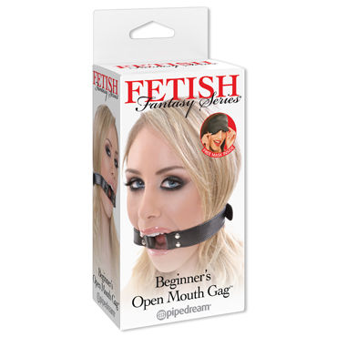 Pipedream Beginners Open Mouth Gag Расширительное кольцо pipedream platinum ball gag