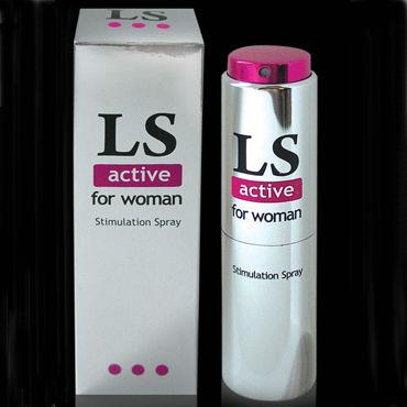 Bioritm Lovespray Active Women, 18 мл Cпрей-лубрикант с возбуждающим эффектом bioritm заманиха 10 шт шипучие таблетки для женщин