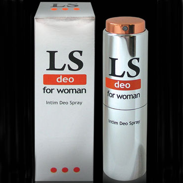 Bioritm Lovespray Deo, 18 мл Интим-дезодорант для женщин вибрирующие фаллопротезы и страпоны для женщин длина 16 18 см