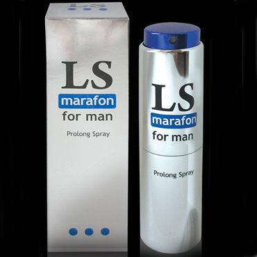 Bioritm Lovespray Marafon, 18 мл Спрей-пролонгатор для мужчин xi luo man сиамского чулки сексуальный ремешками белье открытый файл грудь сексуальный соблазн черный блестящий скольжению