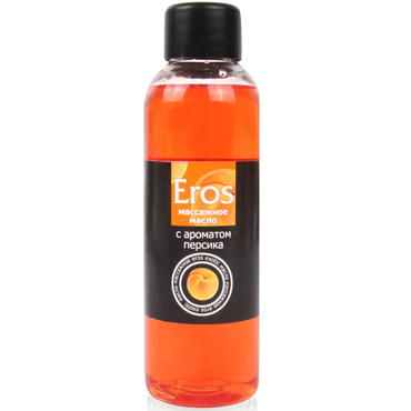 Bioritm Eros, 75 мл Массажное масло с ароматом персика wanle мужской мастурбатор секс игрушки для взрослых искусственная вагина