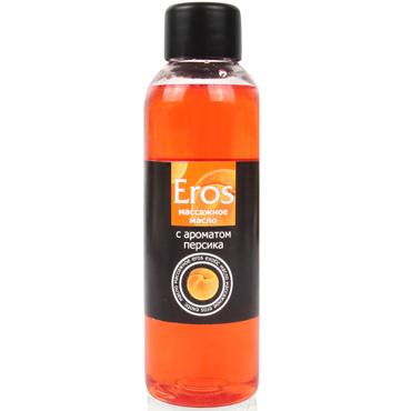 Bioritm Eros, 75 мл Массажное масло с ароматом персика california exotic silicone prostate probe классический массажер простаты
