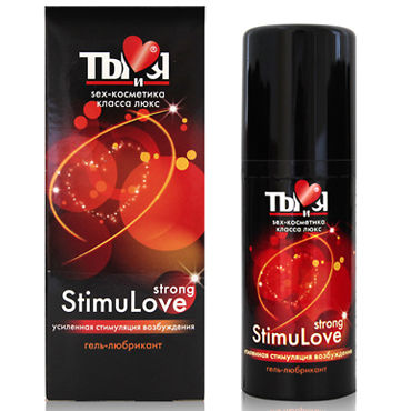 Bioritm StimuLove Strong, 50 мл Мощный лубрикант, стимулирующий возбуждение стринги мужские красные s l