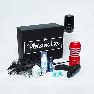 Pleasure Box Premium для Него Набор для сексуальных экспериментов pleasure box premium для гей пар набор для сексуальных экспериментов