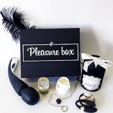 Pleasure Box Gold для Него и для Неё Набор для сексуальных экспериментов фанты туса бомба от скуки и обыденности