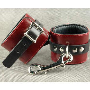 Beastly Наножники Комфортные, красно-черные С мягкой подкладкой ns novelties renegade tear drop ring черное эрекционное кольцо