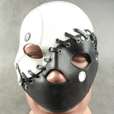 Beastly Маска сборная, черно-белая С 3-мя вариантами ношения beastly маска черная на верхнюю часть лица