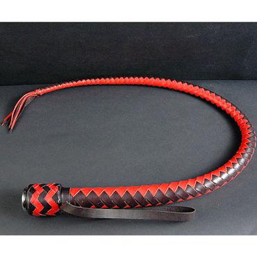 Beastly Ответный Выпад, черно-красный Кнут короткий из натуральной кожи beastly ошейник комфортный красный с тремя сменными ремешками