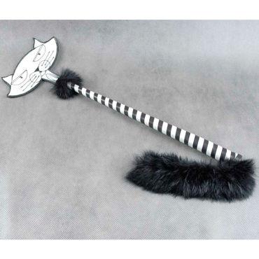 Beastly Приласкай киску, черно-белый Cтек со шлепком в форме мордочки кота cottelli секретарша черно белый hp