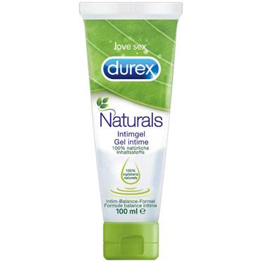 Durex Naturals, 100 мл 100% натуральный интимный гель mister b gun oil h2o lubricant 118 мл лубрикант с алоэ вера