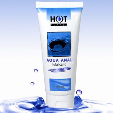 Hot Planet Aqua Anal, 100 мл Смазка на водной основе для анального секса siyi мужчин и женщины с вагинальной смазкой после анального секса апелляционного суда паллиативных смазок для мужчин 120мли