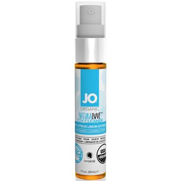 JO Naturalove USDA Organic Toy Cleaner, 30 мл Натуральное средство для очистки игрушек духи женские с повышенным содержанием феромона зодиак весы 5 мл