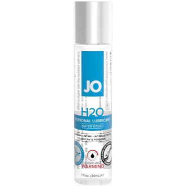 JO H2O Warming, 30 мл Лубрикант на водной основе с согревающим эффектом hustler seamless sheer mini dress розовый комплект из мини юбки и топа