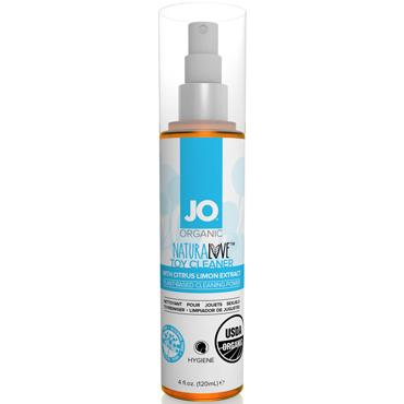 JO Naturalove USDA Organic Toy Cleaner, 120 мл Натуральное средство для очистки игрушек духи женские с повышенным содержанием феромона зодиак весы 5 мл