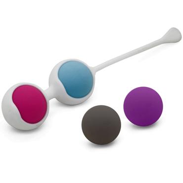 Romant Mini, разноцветный Комплект вагинальных шариков bdsm арсенал профессиональный стек черный с теснённой ручкой