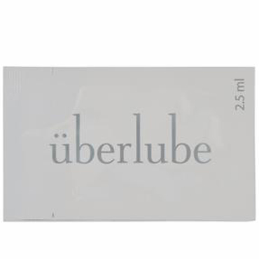 Тестер Uberlube, 2,5 мл лубрикант cпрей uberlube silicone good to go silver 15 мл