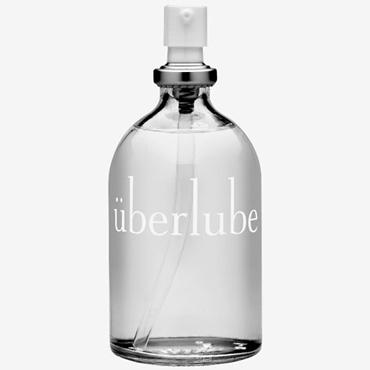Uberlube, 100 мл Лубрикант на силиконовой основе с витамином Е bad kitty spreader slip черные зажимы на половые губы с промежностными бусинками