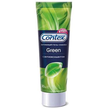 Contex Green, 30 мл Лубрикант с антибактериальным эффектом california exotic intimate ring ribbed кольцо на пенис