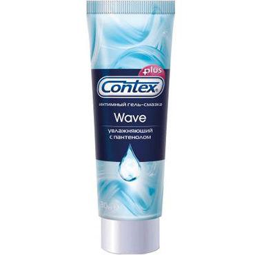 Contex Wave, 30 мл Увлажняющий лубрикант с пантенолом гель смазка контекс wave 30 мл увлажняющая с пантенолом