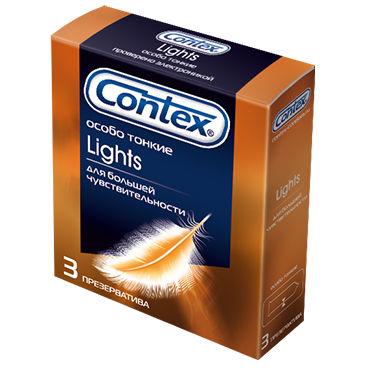 Contex Lights Презервативы ультратонкие contex презервативы classic естественные ощущения 18 шт
