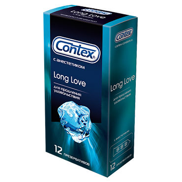 Contex Long Love Презервативы продлевающие продлевающие смазки аромат – мята 6 букв
