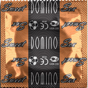 Domino Карамель Презервативы со вкусом карамели mio mio стройные женские презервативы мужские презервативы страсть розовые розы 12 установлены мфпр взрослых секс игрушки