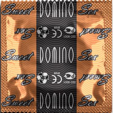 Domino Карамель Презервативы со вкусом карамели mingliu презервативы секс игрушки для взрослых футляр для пениса