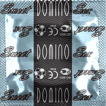 Domino Кокос Презервативы со вкусом кокоса bioclon насадка для страпона harness реалистичной формы