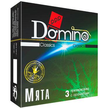 Domino Мята Презервативы ароматизированные презервативы визит классические