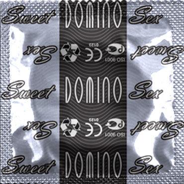 Domino Пломбир Презервативы со вкусом пломбира sitabella хлопалка ладонь красный с жесткой рукояткой