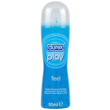 Durex Play Feel, 50 мл Лубрикант, усиливающий ощущения красные стринги amber l xl