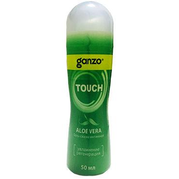Ganzo Touch Aloe Vera, 50 мл Увлажняющий и регенерирующий лубрикант с алое вера анальные втулки длина 18 20 см