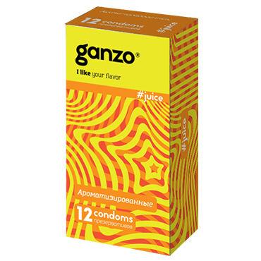 Ganzo Juice Презервативы ароматизированные презервативы ganzo extase 3 c точечной и ребристой поверхностью