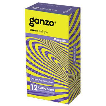 Ganzo Sence Презервативы ультратонкие livia corsetti abra бордовый закат