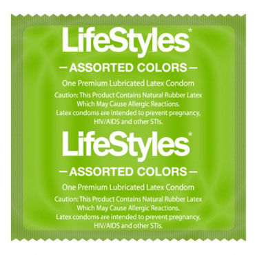 LifeStyles Assorted Colors