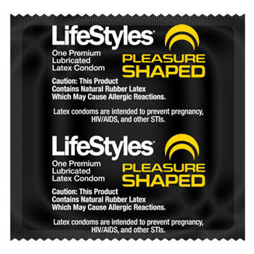 LifeStyles Pleasure Shaped