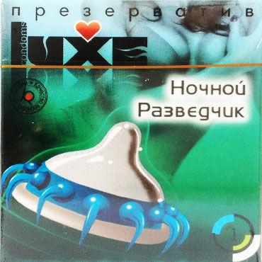 Luxe Ночной разведчик Презервативы с усиками luxe ночной разведчик презервативы с усиками