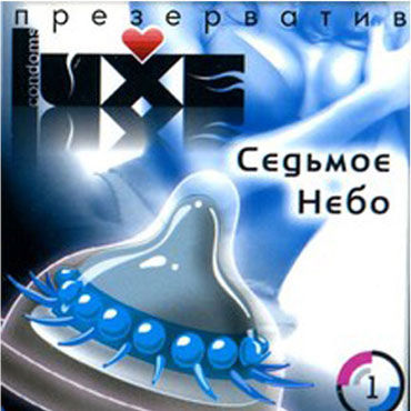 Luxe Седьмое Небо Презервативы с усиками luxe ночной разведчик презервативы с усиками