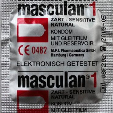 Masculan Classic Sensitive Презервативы классические mif 7 15 5 см вибратор из киберкожи на присоске с выносным пультом управления