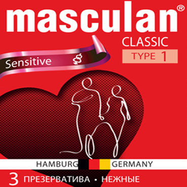 Masculan Classic Sensitive Презервативы классические o electric lingerie fantasy dream