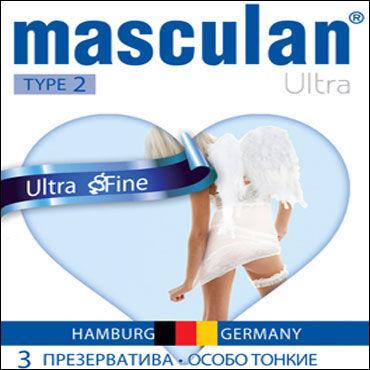 Masculan Ultra Fine Презервативы ультратонкие с обильной смазкой lelo туф 2 фиолетовый о
