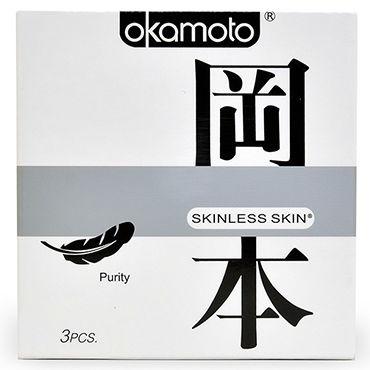 Okamoto Skinless Skin Purity Классические презервативы для максимально естественных ощущений презервативы okamoto skinless skin purity классические no 10 10 шт