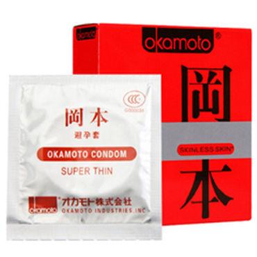 Okamoto Skinless Skin Super Thin Ультратонкие презервативы для максимально естественных ощущений women sexy lace halter backless teddy bodysuit temptation sleepwear nightwear