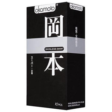 Okamoto Skinless Skin 3 in 1 Микс из презервативов Purity, Super Lubricated и Vanilla pipedream dillio perfect fit harness черные