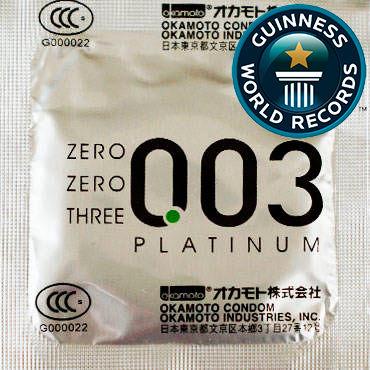 Okamoto Platinum Презервативы самые тонкие латексные jd коллекция мэджик слим light 003 3 дефолт