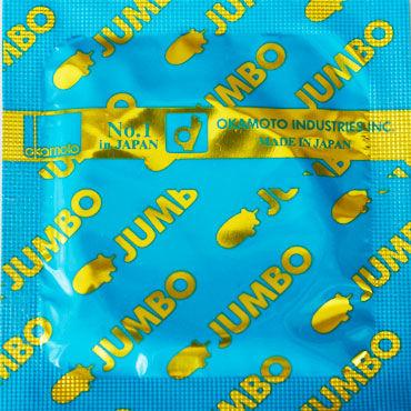 Okamoto Jumbo Презервативы увеличенного размера contex imperial презервативы анатомической формы