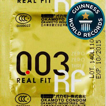 Okamoto Real Fit Презервативы самые тонкие латексные, анатомической формы промо листовка а7 двусторонняя nexus revo stealth tenga