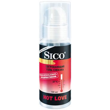 Sico Hot Love, 100 мл Согревающий и возбуждающий гель vizit гель смазка erotic возбуждающий 100 мл